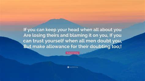 rudyard kipling quote      head