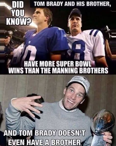 Tom Brady Peyton Manning Meme - 1070 best boston football images on pinterest patriots