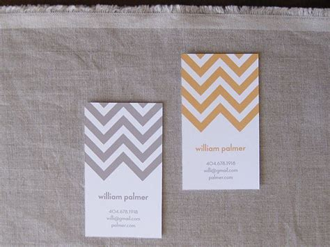Cheveron Gift Card - chevron stripe calling cards