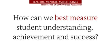 how to measure the accomplishment of the student dr ir standardized assessment perspectives and solutions blog
