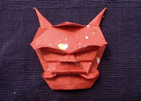Origami Oni - origami demons gilad s origami page