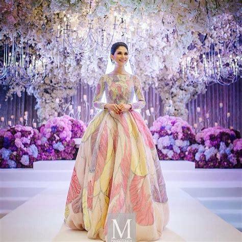 baju pengantin anzalna pikat pembeli dari arab saudi diana rashid