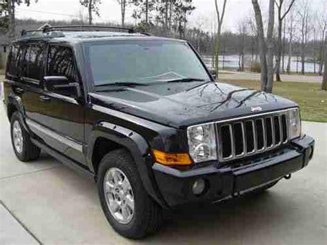 2007 Jeep Commander Transmission Find Used 2007 Jeep Commander Overland Sport Utility 4