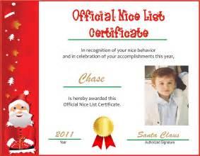free printable santa certificate template free diy 2014 santa list certificates new calendar