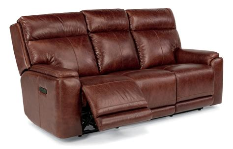 Sofa With Recliner Teal Leather Reclining Sofa Best Sofas Decoration