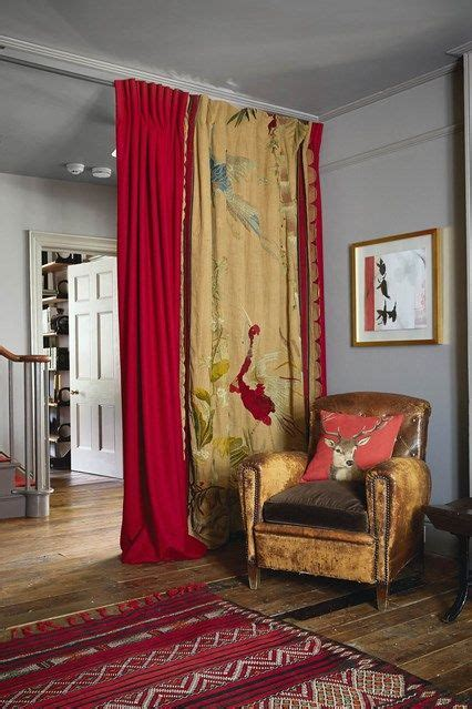 hall   home ideas  inspiration red curtains living room hall curtains