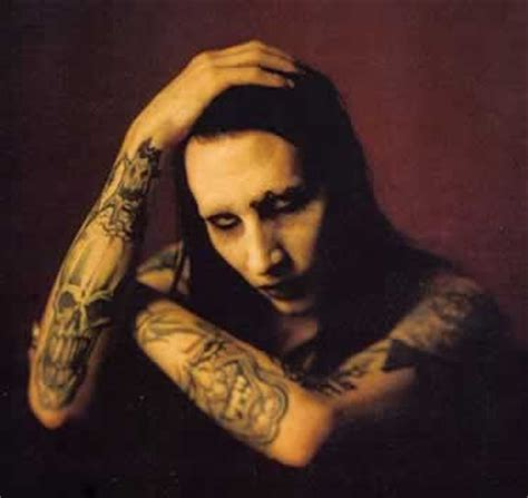 marilyn manson tattoos tattooed marilyn tattoos
