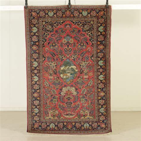 tappeto antico tappeto kashan antico iran tappeti antiquariato