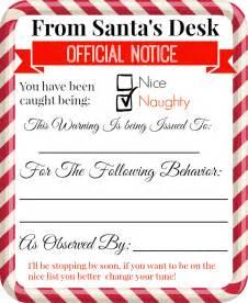 free printable elf on the shelf notes
