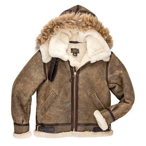 b 3 bomber jacket b 3 hooded sheepskin bomber jacket cockpit usa