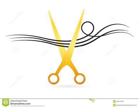 Twist Hairstyle Tools Clipart No Background by Hair Cutting Scissor Stock Photography Image 24644122