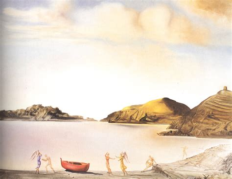 port lligat  sunset  salvador dali wikiartorg