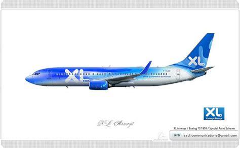 xl airways boeing 737 800 special paint scheme xl airways photos paint and