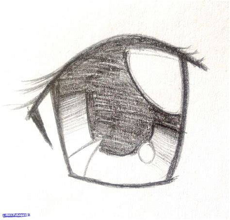 anime eyes drawing in pencil anime drawings in pencil step by step drawing sketch galery