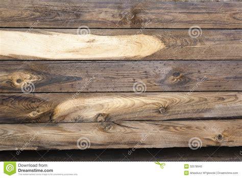 Wooden Sleepers Cracked Wooden Sleepers Stock Photo Image 32578940