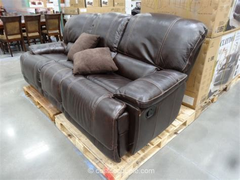 costco leather recliner sofa costco leather sofa roselawnlutheran