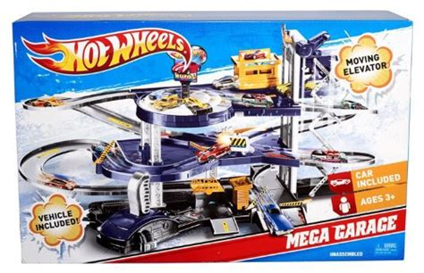 Mattel Hot Wheels Mega Garage Playset ? Mattel V3260 ? Toy