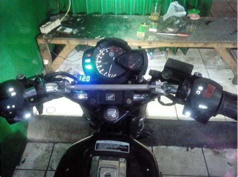 Lu Led Motor Gl Pro solusi jitu modifikasi holder bajaj pulsar garasi modifikasi