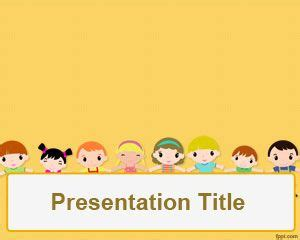 children s day powerpoint template ppt template