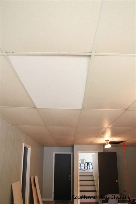 ceiling tile spray paint spray paint ceiling tiles spray paint basement ceiling black ideas ceiling