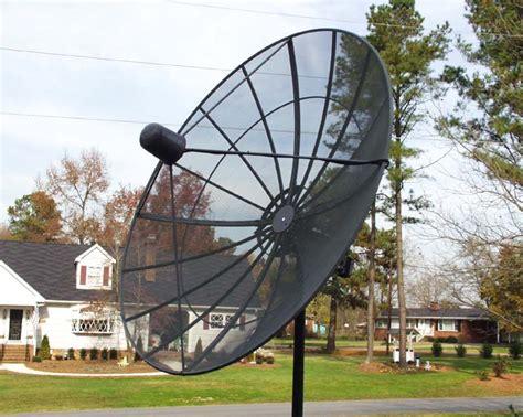 backyard satellite dish 收看台灣電視節目