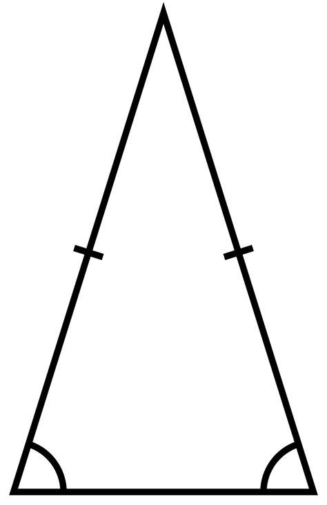 two triangle isosceles triangle