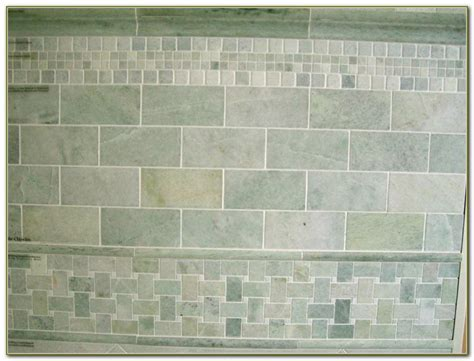 tumbled marble subway tile backsplash tiles home