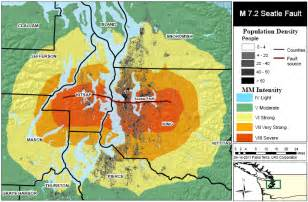 seattle earthquake map earthquake fault maps in seattle and washington state insuranceowl org