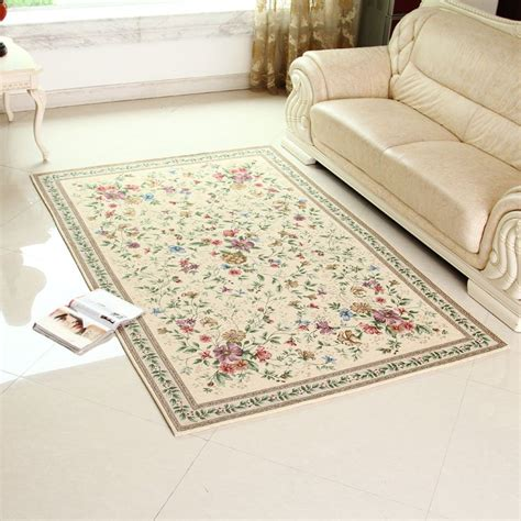Country Style Area Rugs Aliexpress Buy Classic Carpet European Country Style Area Rug Chic Floral Living Room And
