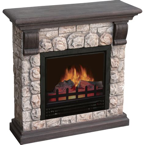 product stonegate polystone electric fireplace 3750 btu