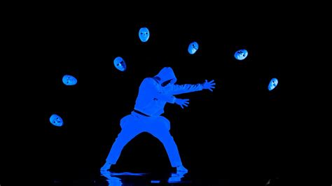uv l youtube u v light dance performance by c l c meloor hd video
