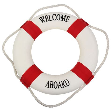 Fish Home Decor by Welcome Life Preserver Ring Decor Buoys
