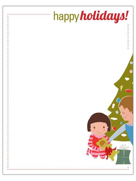 Free Christmas Letter Templates With Picture Insert Free Christmas Letter Templates Christmas Free Letter Templates With Picture Insert