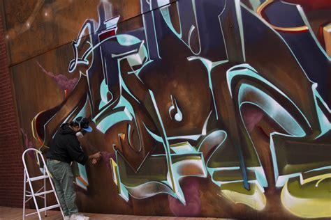 graffiti video monk  bombing science
