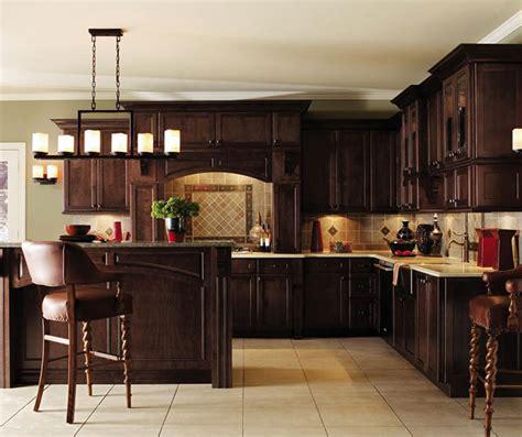 Dark Maple Kitchen Cabinets   Decora Cabinetry