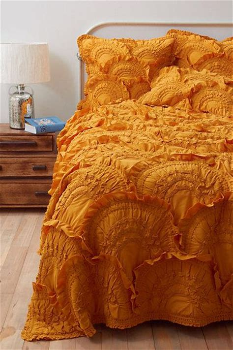 Anthropologie Rivulets Quilt by Rivulets Quilt Gold Anthropologie