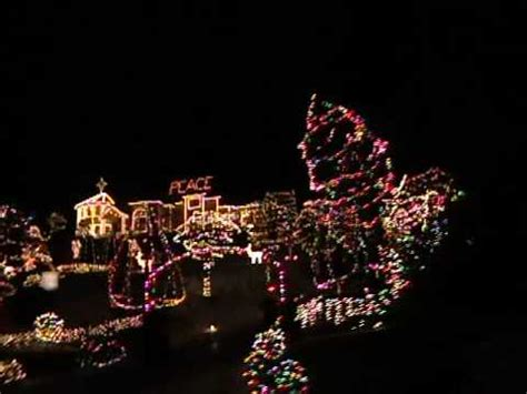 christmas lights in eugene oregon youtube