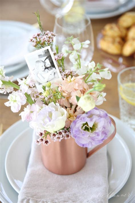 How To Make Wedding Decorations At Home Mother S Day Table Setting Julie Blanner Entertaining