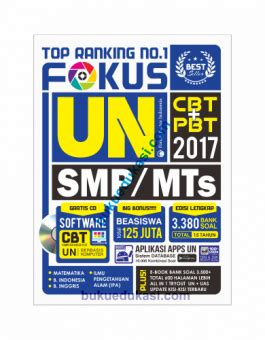 Fokus Un Smpmts 2017 Top Rangking No 1 top ranking no 1 fokus un smp mts 2017 buku edukasi