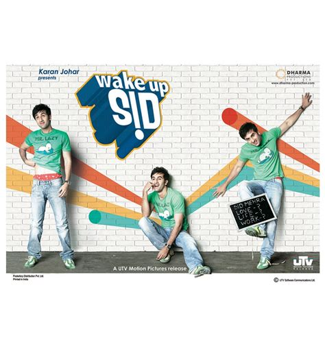 wake up sid home decor poster boy wake up sid trio poster by posterboy online