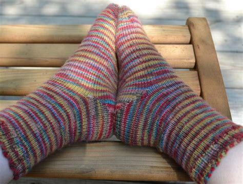 pattern toe up socks simple toe up sock knitting pattern
