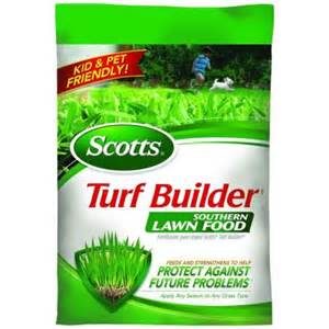 grass fertilizer home depot scotts 15 000 sq ft southern turf builder lawn