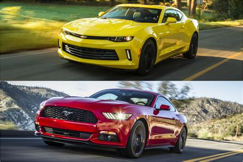 Mustang Vs Camaro by Qotd Do You Want A Ford Mustang Or A Chevrolet Camaro