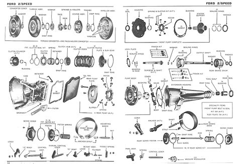ford c4 transmission diagram hotrod ford c4 c6 transmission data and links