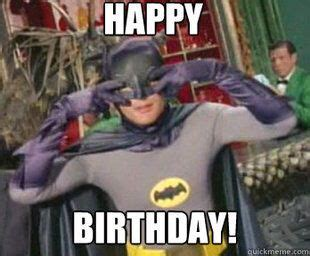 Superhero Birthday Meme - batman happy birthday meme zap bam superheroes