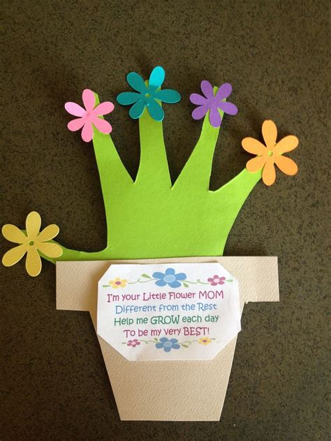 mothers day crafts from s day placemat idea s day