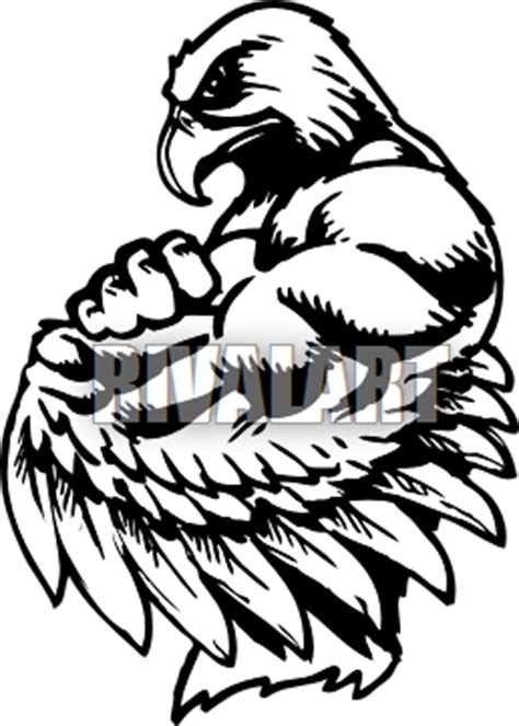 related keywords suggestions  hawk mascot clip art