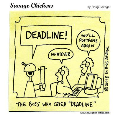 The August Deadline For The Whole Work Situation L by Setting Realistic Deadlines Impact
