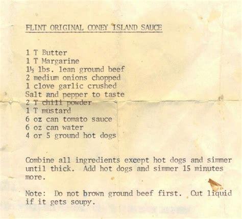 coney island sauce coney sauce recipe