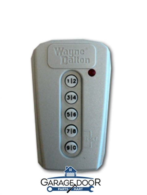Wayne Dalton Garage Door Opener Wireless Keyless Entry Keyless Garage Door Opener